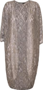 Kailyn Lace Open Long Cardigan