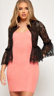 Katie Lace Bell Sleeve Cover Up Cardigan