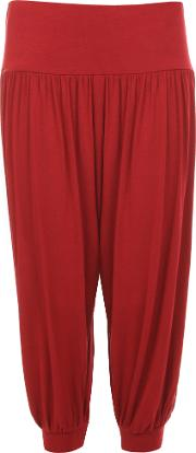 Sonia Cropped 34 Harem Trousers