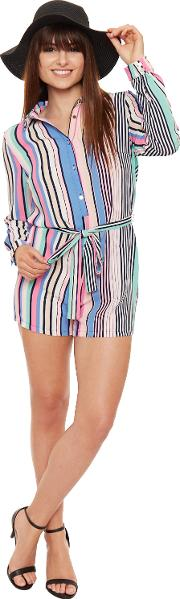 Striped Playsuit,