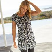 Alanis Printed Stretch Tunic