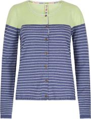 Alexis Striped Nep Outfitter Cardigan