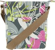 Amira Printed Cotton Cross Body Bag