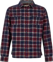 Avary Long Sleeve Washed Cord Check Shirt