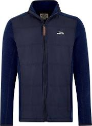Beeckman Quilted Soft Knit Jacket