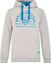 Bellicose Graphic Print Brushed Back Hoody