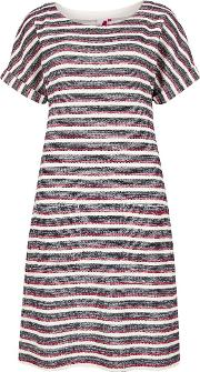 Brit Stripe Jersey Dress