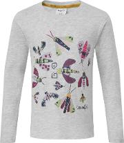 Bugsy Long Sleeved Graphic T Shirt