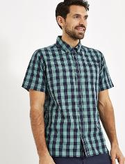 Corrib Gingham Short Sleeve Shirt