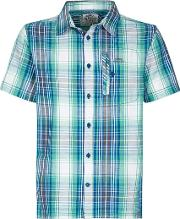 Darros Slub Short Sleeve Check Shirt