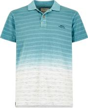Drem Dip Dye Space Stripe Polo