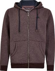 Drum Zip Through Fleece Hoody