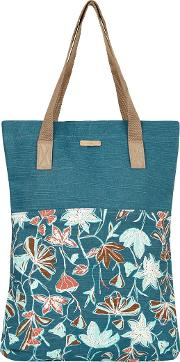 Elena Printed Slub Shopper