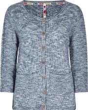 Elisa 34 Sleeve Marled Cable Outfitter Cardigan