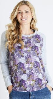 Freya Printed Longer Length T Shirt