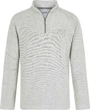 Helm 14 Zip Siera Knit Sweatshirt