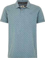 Herger Pigment Dyed Stripe Polo