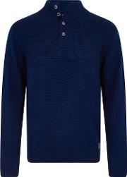 Hythie 14 Neck Textured Knit Jumper