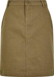 Irina Stretch Twill Skirt