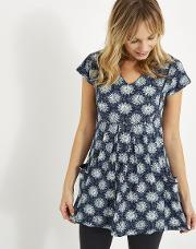 Laurie Printed Jersey Tunic