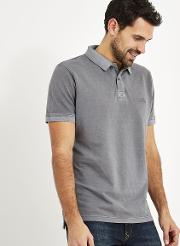 Lenny Garment Dyed Polo Shirt