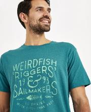 Riggers Branded Graphic T Shirt