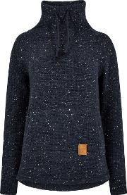 Roskilde Funnel Neck Knitted Fleece