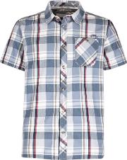 Silverbolt Herringbone Short Sleeve Check Shirt