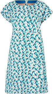 Tallahassee Printed Jersey Dress