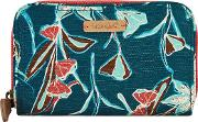 Tom Tom Printed Cotton Slub Purse