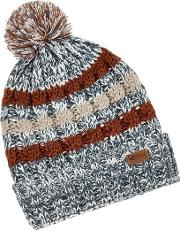 Vito Twisted Yarn Bobble Hat