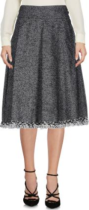 . Skirts Knee Length Skirts Women