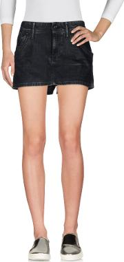 G Star Raw Denim Denim Skirts