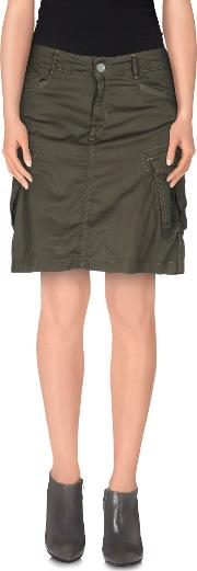 G Star Raw Skirts Knee Length Skirts