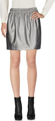 M.grifoni Denim Skirts Mini Skirts