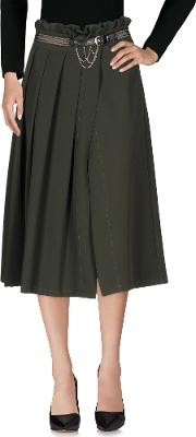 Skirts 34 Length Skirts Women