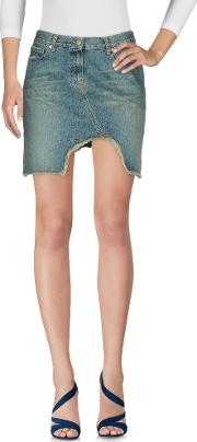 Denim Denim Skirts Women