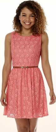 Lace Day Dress